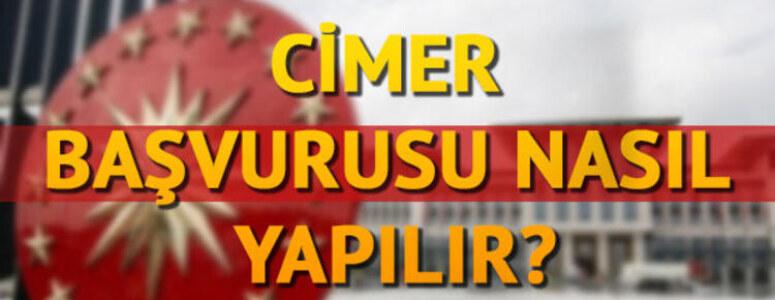 E-Devlet üzerinden Cimer'e şikayet süreci nasıl işliyor?