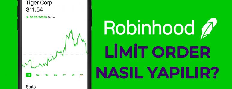 Robinhood Limit order nedir? Hisse seneti alırken nasıl limit verilir?