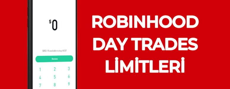 Kaç defa day trades yapma hakkımız var? (Robinhood, WeBull, Fidelity..)