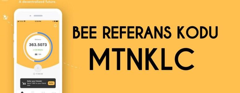 Pi network ve Bee coin referans kodu ile yüksek oranda kazanın