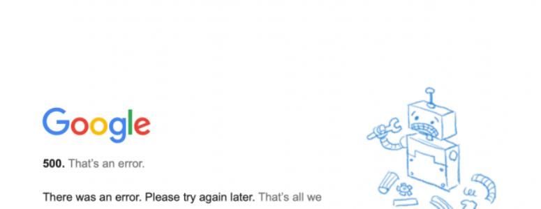 Google Ads hesabıma giremiyorum 500 hatası alıyorum