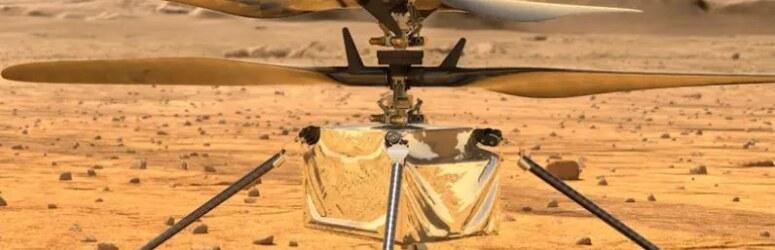 Nasa'nın 85 milyon dolarlık uzay dronu ile Mars'ta ilk uçuş!