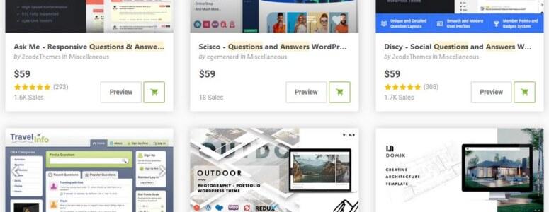 WordPress Soru Cevap Temaları 2021 (Mobil uyumlu)