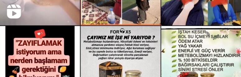 Forx5 iron tea zayıflama çayı kullanıcı yorumları