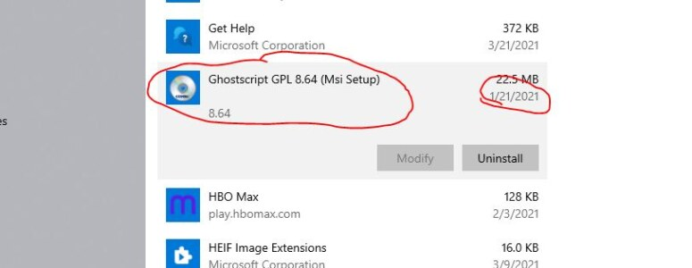 Ghostscript gpl 8.64 (msi setup) nedir?