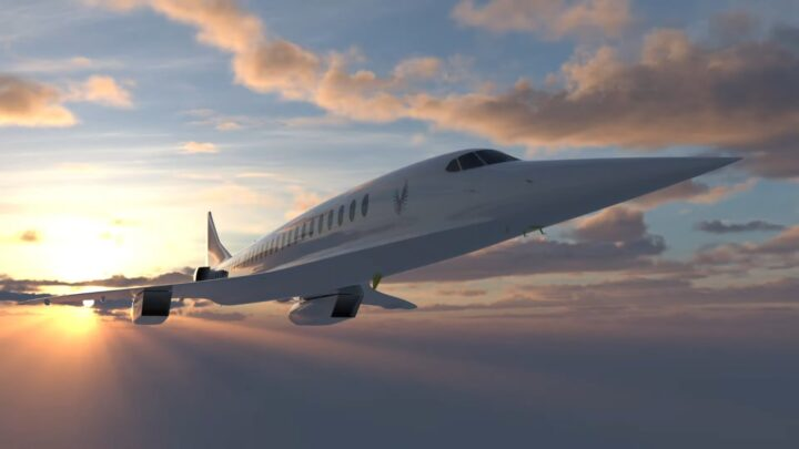 boom supersonic airplanes 2029