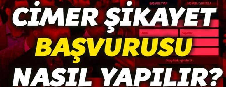 Cimer şikayet başvurusu nasıl yapılır? Erdoğan'a şikayet dilekçesi yazma!