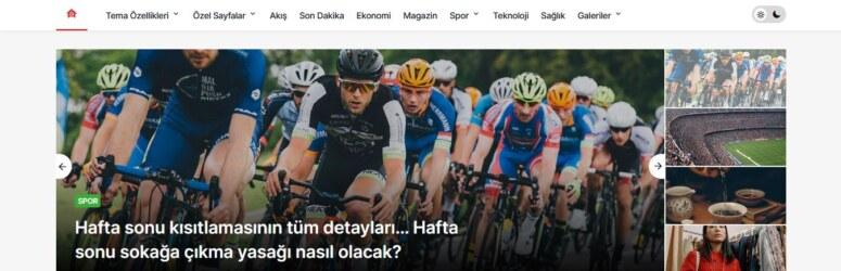 Türkçe wordpress haber teması arayanlar için seo uyumlu KANEWS