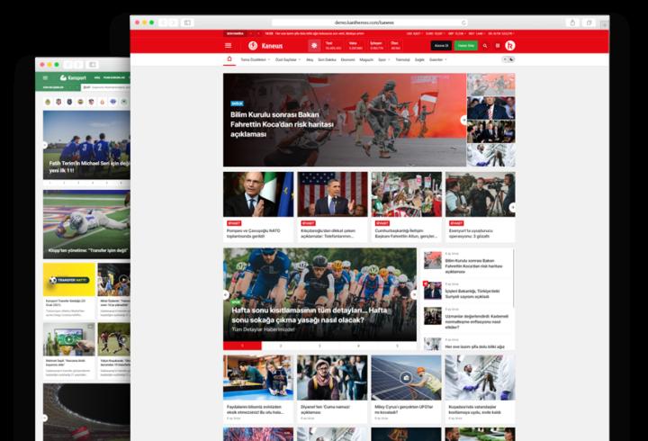 Türkçe wordpress haber teması 2021